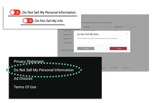 Do Not Sell My Personal Information Link